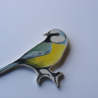 Ceramic Blue Tit