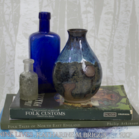 Bud Vase - Badger - Bluebells - Full Moon