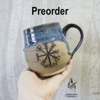 PRE-ORDER - Forest - Vegvisir - Helm of Awe - Mug