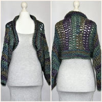 Chunky Soft and Cosy Shrug Plus Size