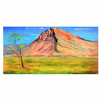 """""""The Mountain View"""", Landscape painting"""