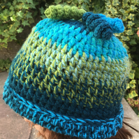SALE Limited Edition 'Glacier' Winter Collection Crochet Hat