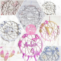Personalised dreamcatcher, butterfly dreamcatcher wall decor Nursery, bedroom