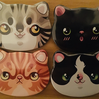 Cat Face Badges