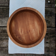 English Apple Woodturned Bowl