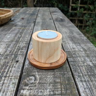 English Ash Tealight Candle Holder