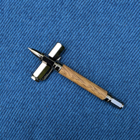 Woodturned Sneezewood Rollerball Pen