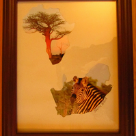 Africa Photo Frame