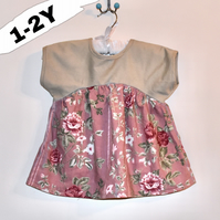 Floral Top - Size 1-2 Years