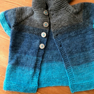 Blue-toned Hoody Jacket for 6-12 months