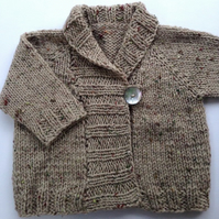 Shawl Collar Jacket for 6-12 months baby