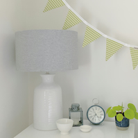 BUNTING - zesty green gingham