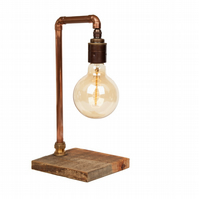 Copper Pipe Vintage Industrail Style Lamp