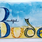 Greeting Card - Blank - 'BUDE'