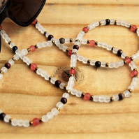 Jasper Glasses Chain, Gemstone Sunglasses Chain