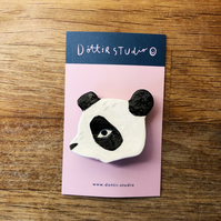 Panda Bear Badge