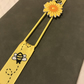 Yellow Bee with Flower Planner Band