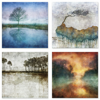 Collection of 12 Landscape Art Postcards
