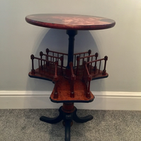 Vintage painted Victorian book table