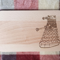 "Chopping Board 19cm ""In the style of - Darlek"""