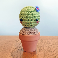 Beryl the Crochet Cactus