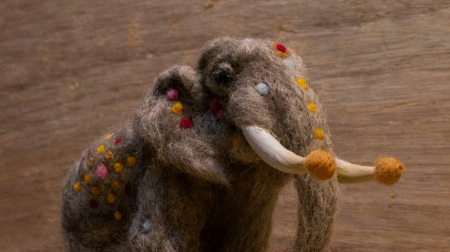 Ravelry: ChrisLudlow's Saffron the ceremonial elephant | 361x642