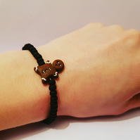 Elasticated Gingerbread Bracelet