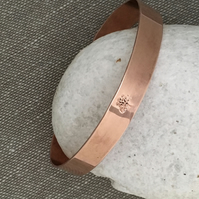 Copper Bangle - Tree of Life
