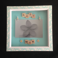 Best mum scrabble daisy photo frame.