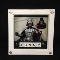 Darth Vader personalised 3D picture.
