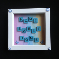 Home,Sweet,Home scrabble picture.