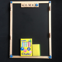 Home scrabble wall organiser.