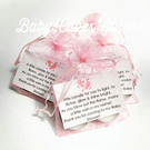 Baby Shower Pink Party Favours