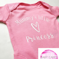 Mummy's Little Princess baby vest