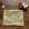Vintage Daisy chain zip pouch