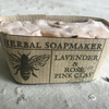 Noggy ends! - Lavender & Rose Pink Clay Soap