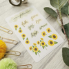 Sunflowers - Bible Journaling sticker sheet