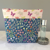 Flower Meadow Quilted Pouch
