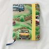 A6 Diary, Fabric Covered Diary, 2021 Diary, Hardback Diary, Gift Ideas.