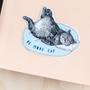 Be More Cat Sticker