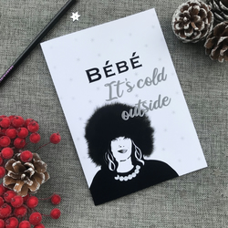 Moira Rose Schitts Creek Christmas Card Merry Christmas Bebe quote