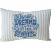 Follow Your Dreams, Embroidered Feature Cushion
