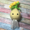 Kawaii Crocheted Daffodil Bulb