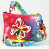 Colourful Bright butterflies handbag Convertible shoulder bag to rucksack small