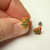 Christmas Tree Biscuit stud earrings