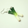 Welsh leek earrings