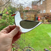 Stained Glass Seagull Suncatcher - Handmade Hanging Decoration