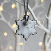 Snowflake decoration - small