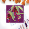 Pheasant Berry Card - Autumn Berries, for gardeners