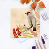 Waxwing Card - British Bird, Eco Friendly, Autumn or Christmas